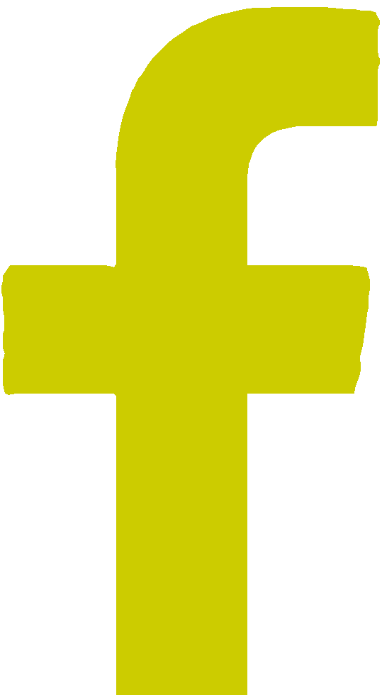 Facebook icon yellow